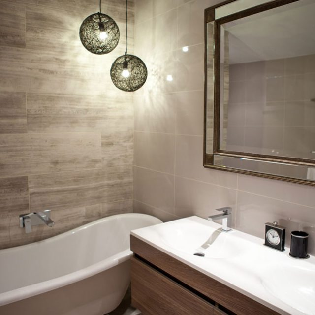 Work bathroom 28 images this tub tile accents and for Corporate bathroom ideas